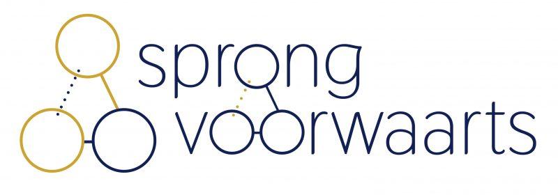 Logo: Sprong – Consortium leren en ontwikkelen voor toekomstgericht onderwijs