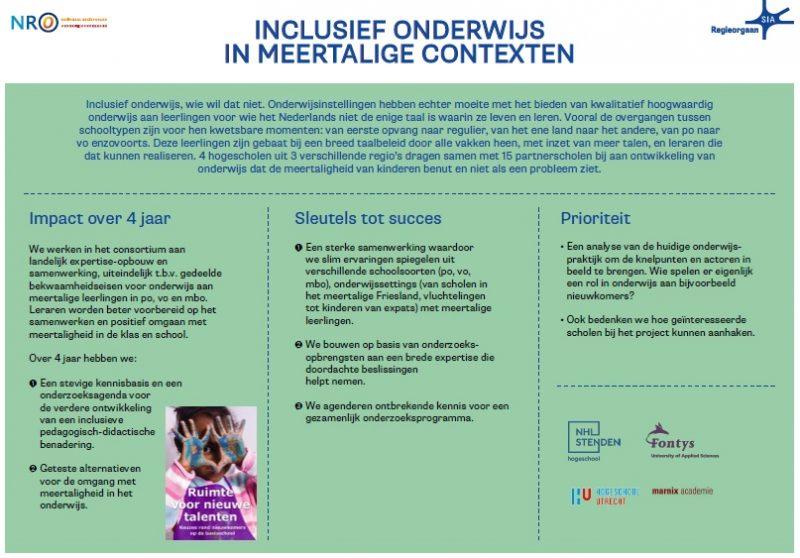 Logo: Consortium Inclusief onderwijs in meertalige contexten