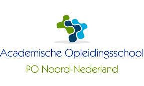 Logo: Academische Opleidingsschool PO Noord-Nederland